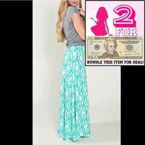 2 FOR $20 LuLaRoe Strapless Patterned Dress Skirt